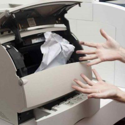 máy in không in được
